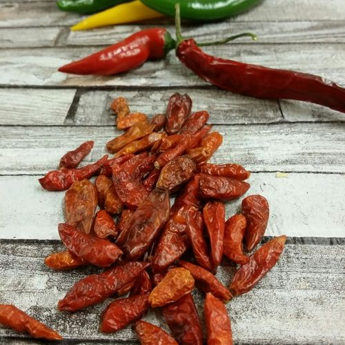 Chillies Bird's Eye, ganz (kleine Schoten) 20g